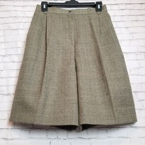 [NWT + VINTAGE!] 100% wool high waisted shorts